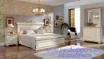 Kamar Set Tempat Tidur Mewah Minimalis Ukir Modern Marsella