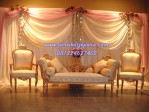 Kursi Sofa Pelaminan Gold Mewah Terbaru