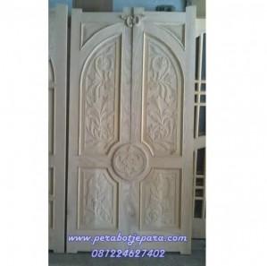 Pintu Rumah Ukir Minimalis Jepara