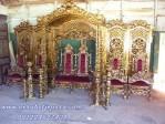 Set Dekorasi Pengantin Gold Untuk Perlengkapan Pelaminan