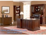 Set Meja Kantor Bos Design Minimalis Modern