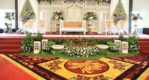 Set Panggung Dekorasi Pelaminan Gebyok Duco