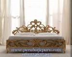 Tempat Tidur Mewah Clasic Gold Eropa Style
