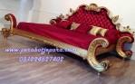 Tempat Tidur Mewah Gold Alexandria Klasik