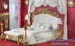 Tempat Tidur Pengantin Baru Ukir Gold