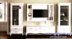Set Bufet Tv Klasik Minimalis
