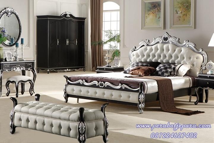 set kamar tidur mewah terbaru murah perabot jepara
