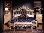 Set Tempat Tidur Antik Mewah Baroque