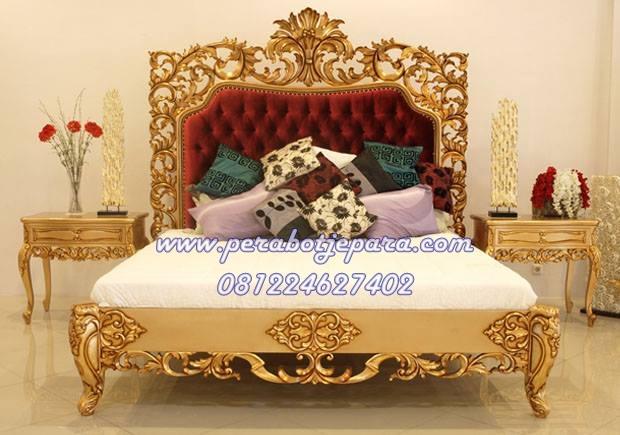 tempat tidur pengantin princess syahrini terbaru murah
