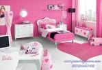 Kamar Minimalis Anak Perempuan Barbie