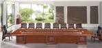 Desain Meja Konverensi Ukir Minimalis Mewah 8 Kursi