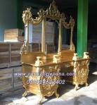 Meja Rias Ukir Klasik Gold Mewah Di Kota Bukit Tinggi