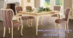 Model Set Meja Makan Klasik Minimalis Desain Baroque