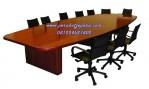 Set Meja Meeting Kantor Kayu Jati