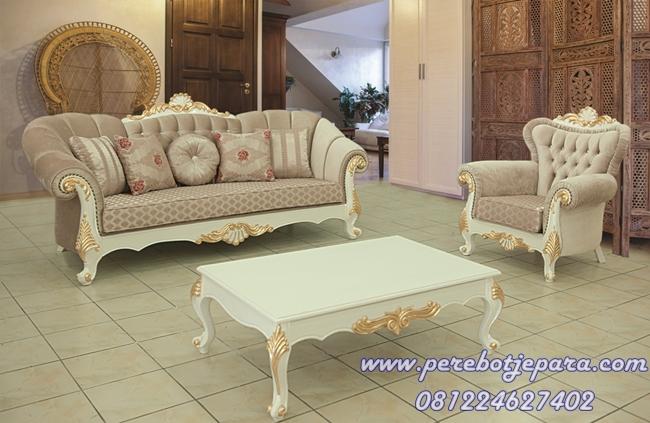 Harga sofa kursi tamu royal klasik murah di jakarta for Sofa klasik