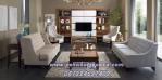 Konsep Ruang Keluarga Klasik Minimalis