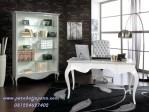 Meja Kantor Elegan Warna Putih Klasik FPK-17