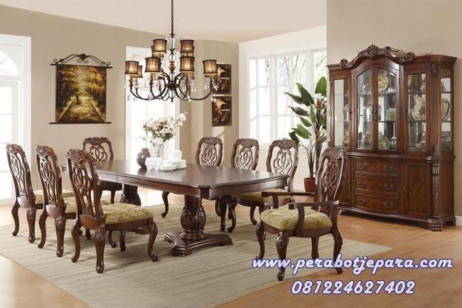 Set Ruang Makan 8 Kursi Marisol