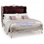 Tempat Tidur Klasik Ukir Crown