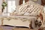 Tempat Tidur Model Ukir Putih Sang Dewi