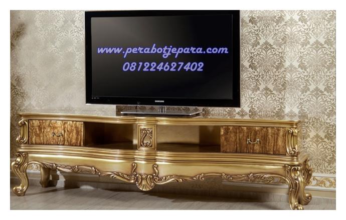 Meja Tv Klasik Gold
