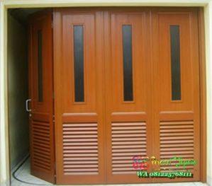 Model Pintu Garasi Rumah kayu jati jepara