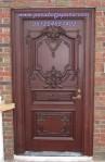 Pintu Rumah Ukir Klasik Model Single
