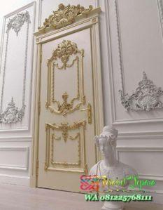 Pintu Kamar Tidur Mewah Klasik Italyan Style