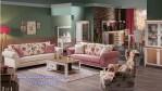 Set Ruang Tamu Elegan Raffi Ahmad Model Vintage