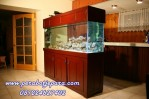 Aquarium Kayu Model Terbaru Murah