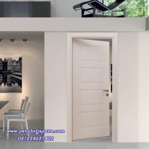 Pintu Minimalis Warna Putih Duco