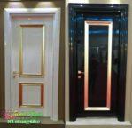 Pintu Minimalis Warna Putih Duco Glossy