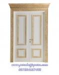 Pintu Utama Double Ukir Desain Mewah KPJ-325