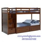 Tempat Tidur Anak 2 Susun Tingkat Minimalis Murah