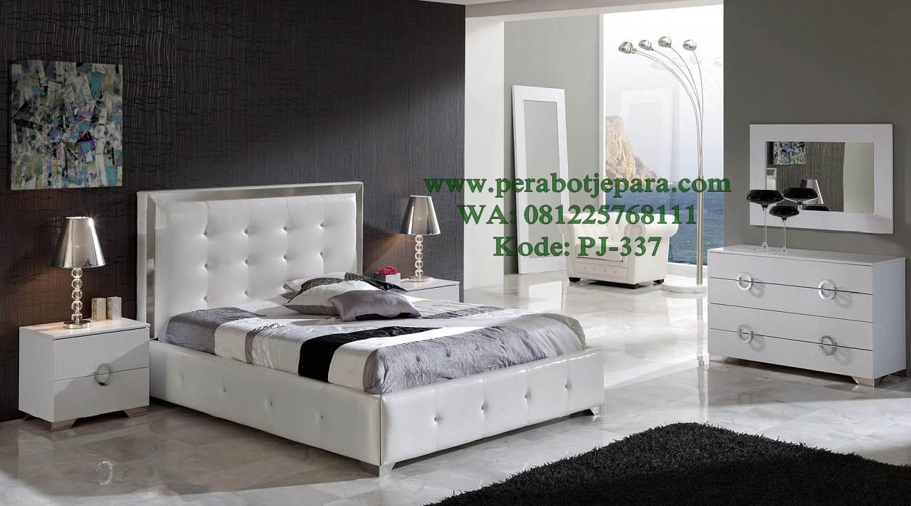 Tempat tidur minimalis elegan jepara