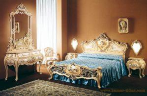 Set Kamar Tidur Mewah Ukir Klasik PJ-335