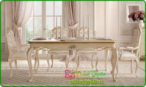 Set meja kursi makan terbaru 2018 model klasik modern eropa