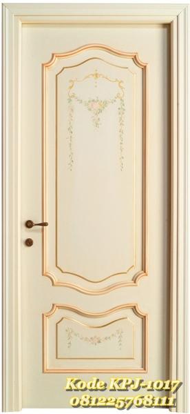 pintu rumah gaya eropa minimalis modern KPJ - 1017