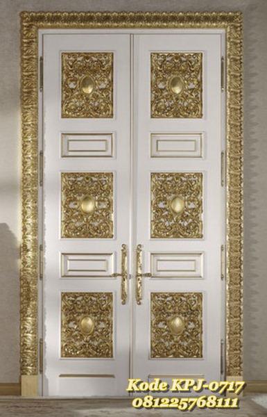 pintu rumah klasik eropa KPJ - 0717