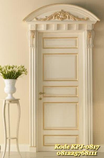 pintu rumah klasik modern gaya eropa KPJ - 0817