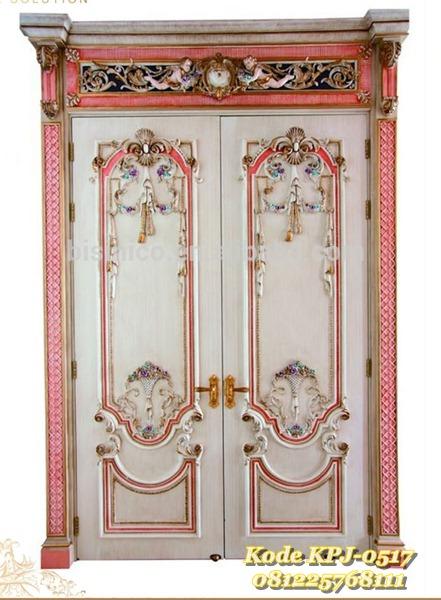 pintu rumah mewah klasik eropa KPJ - 0517