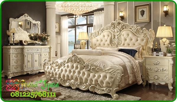 set kamar pengantin mewah gaya eropa