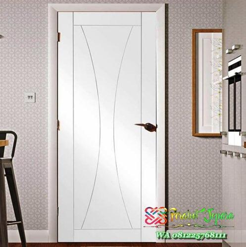 Model Pintu kamar tidur minimalis putih