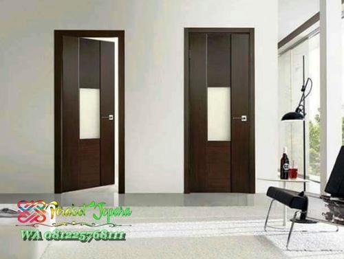 Model pintu kamar tidur minimalis kayu jati jepara