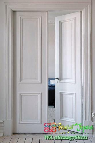 model pintu kamar tidur minimalis buka dua