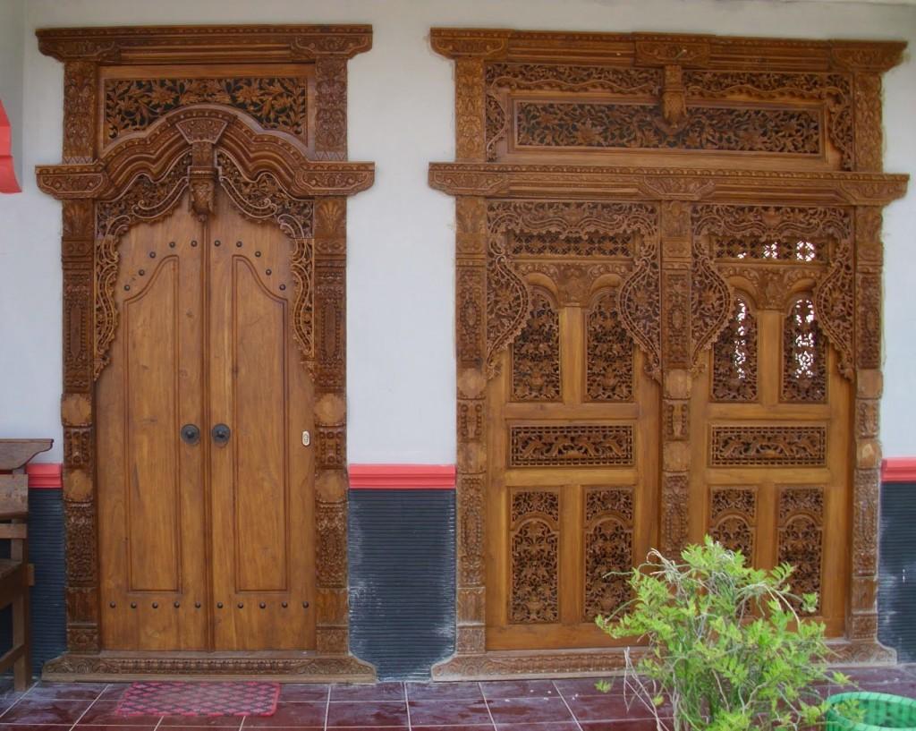 Pintu Gebyok Rumah Minimalis