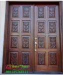 Pintu Rumah Ukir Jati Terbaru