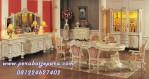 Set Kursi Meja Makan Mewah Klasik Eropa