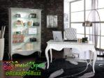 Meja Kantor Elegan Warna Putih Klasik FPK-17 terbaru 2018
