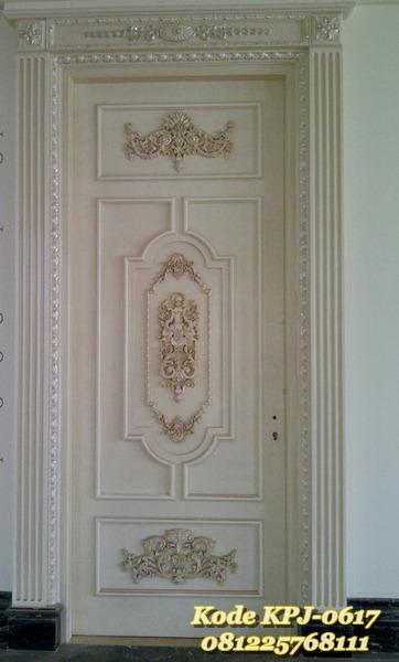 pintu rumah ukir mewah gaya eropa KPJ - 0617